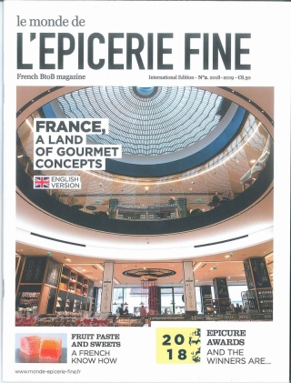 EPICERIE FINE INTERNATIONAL - Septembre 2018