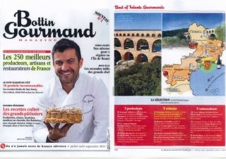 MAGAZINE LE BOTTIN GOURMAND - ETE 2014