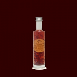 /Small Bottle of Red Wine Vinegar with Shallot